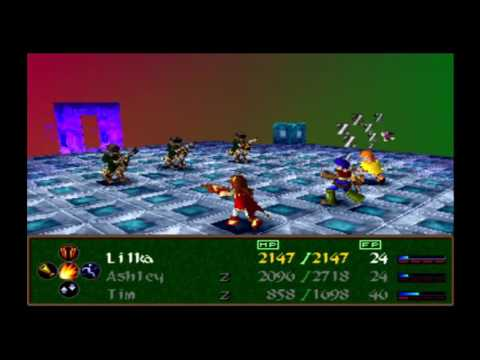 Wild arms 2 : (ps1) : part 67 : Emulator zone : 2 of 2 : Octagon maze
