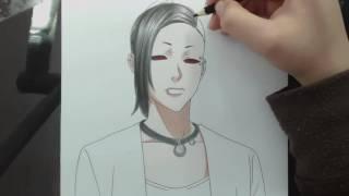 Speed Drawing - Uta (Tokyo Ghoul)