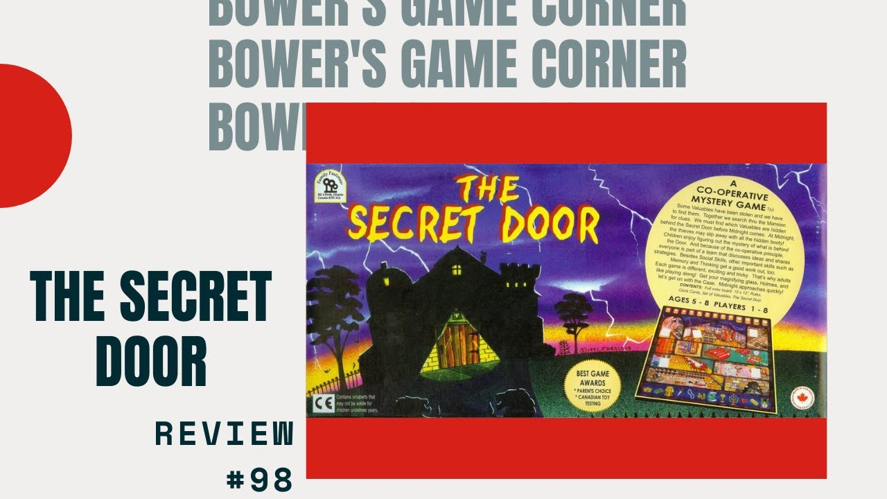 & Bower\u0027s Game Corner: The Secret Door Review - YouTube