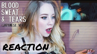 Gambar cover BTS - Blood Sweat and Tears (Japanese Ver.) REACTION