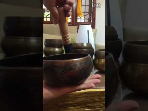 Tibetan Singing Bowl - Music Note Gifts