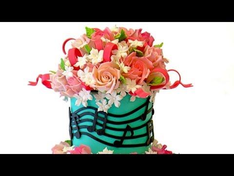Musical Themed Birthday Cake