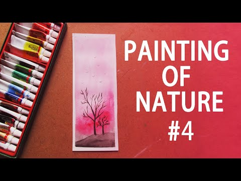 Painting of Nature #4 | Watercolor Painting | Art Talent