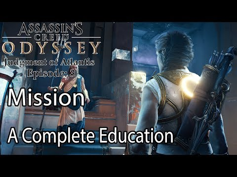 Assassin's Creed Odyssey Mission A Complete Education |