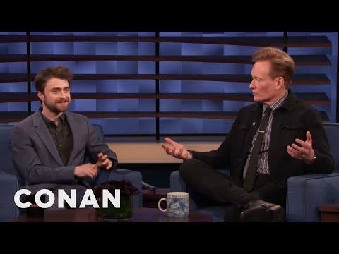Daniel Radcliffe Teaches Conan A Colorful British Expression - CONAN on TBS