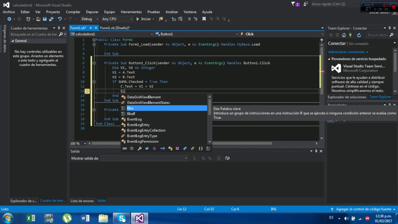 TUTORIAL DE VISUAL STUDIO 2017 CREAR UN PROGRAMA