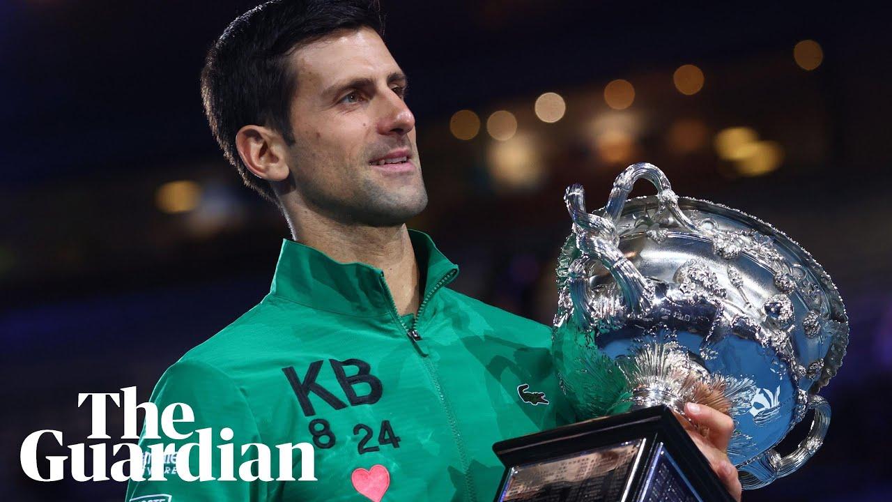 Novak Djokovic Outlasts Dominic Thiem To Win Eighth Australian Open Crown Sport The Guardian
