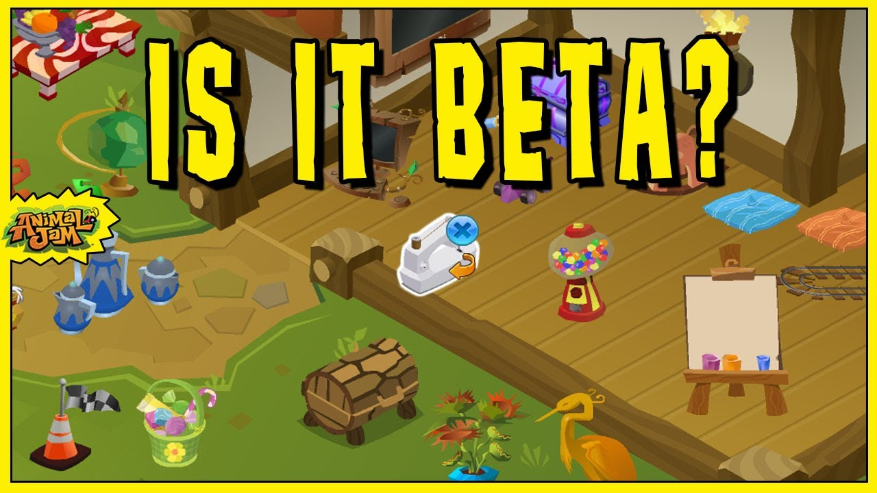 Animal Jam Is It Beta Youtube