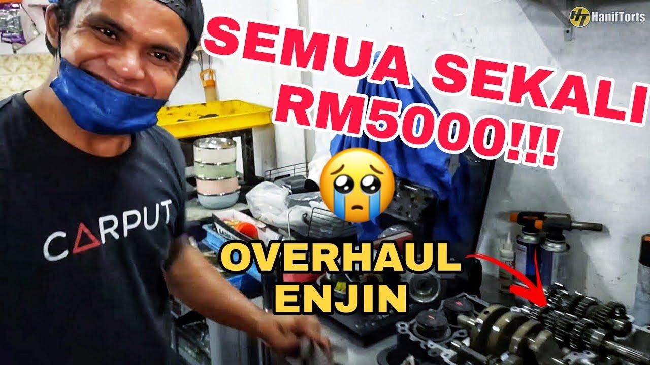 MOTOR AKU KENA OVERHAUL SAMPAI RM5000!!! Yamaha R25 MT25