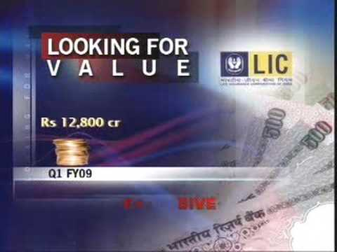 LIC in search of value buys in volatile markets