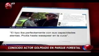 Actor de Woki Toki Koke Santa Ana llama a funar a sujeto que lo agredió