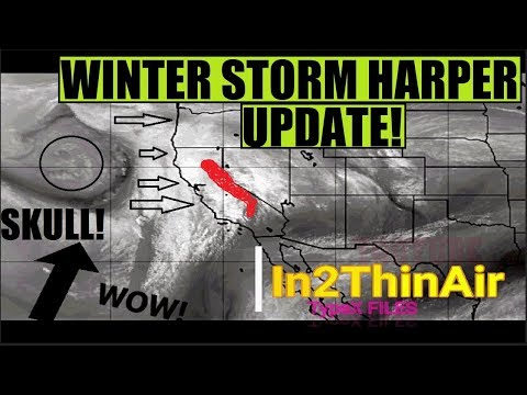 WINTER STORM HARPER UPDATE *AMAZING* ANOMALIES And Visuals