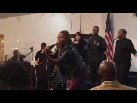 LeAndria Johnson ministers Better Days at GCMS