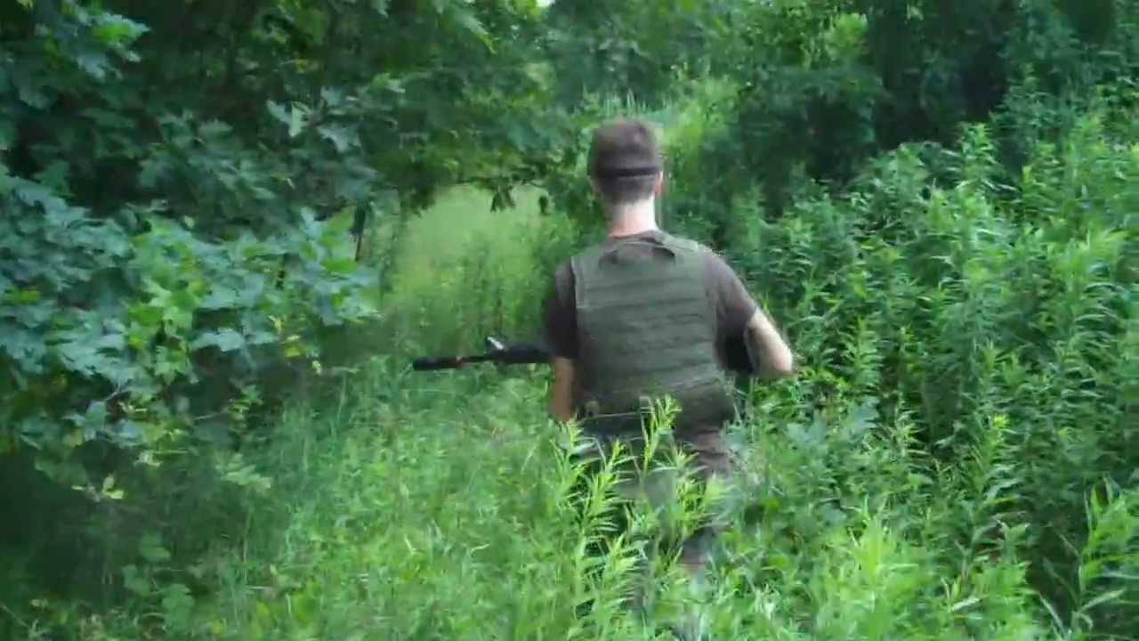 airsoft battle the woods youtube