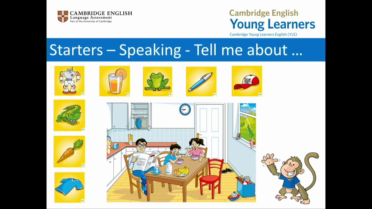 Revised Cambridge English: Young Learners tests – an overview - YouTube