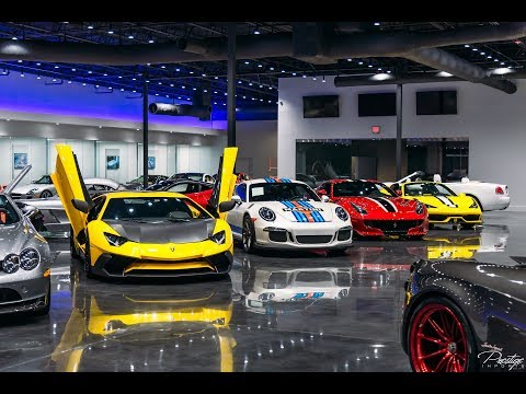 most-expensive-supercar-showroom-world's-best-exotic-cars-drive-by-at-prestige-imports-miami