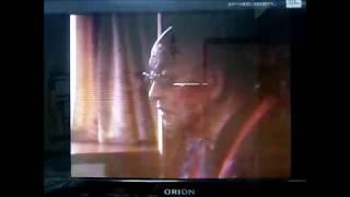 僧侶が宇宙人に遭遇。   A priest met a alien from space.
