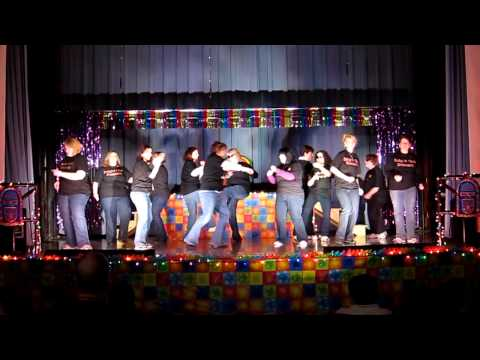 Knight Club: Nightingale Elementary School Teachers Dance in 2011 Talent Show