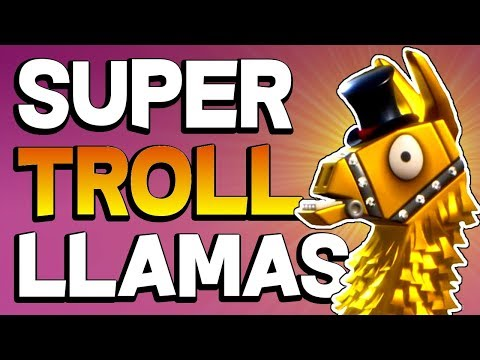 THEY'RE BACK!  Super Truck Troll Loot Llama Opening! - Fortnite PVE 2018 Mythic and Legendary Loot!
