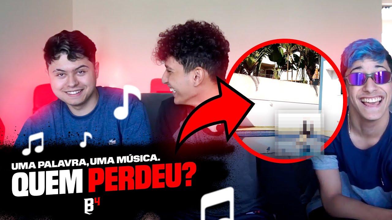 DESAFIO NA MANSÃO   1 PALAVRA 1 MÚSICA! PESADO 🔥