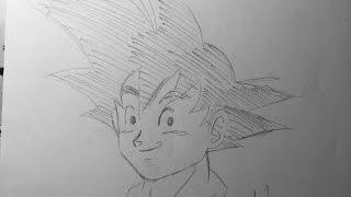 draw Goku under 5 min