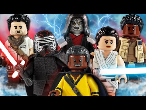 Custom Lego Star Wars The Rise Of Skywalker Minifigures Youtube