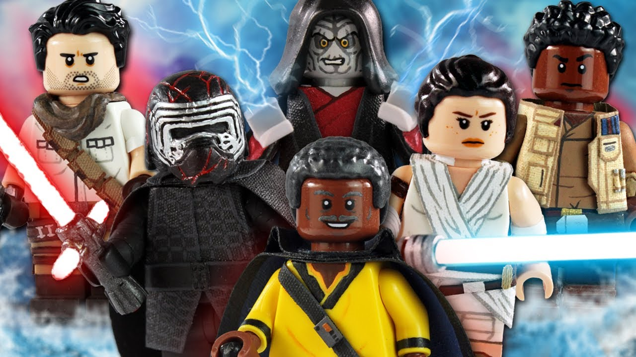 Custom Lego Star Wars The Rise Of Skywalker Minifigures Youtube