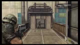 Binary Domain - Multiplayer: Free For All, Sewer Facility Map, Pre Game Messing Around Xbox 360