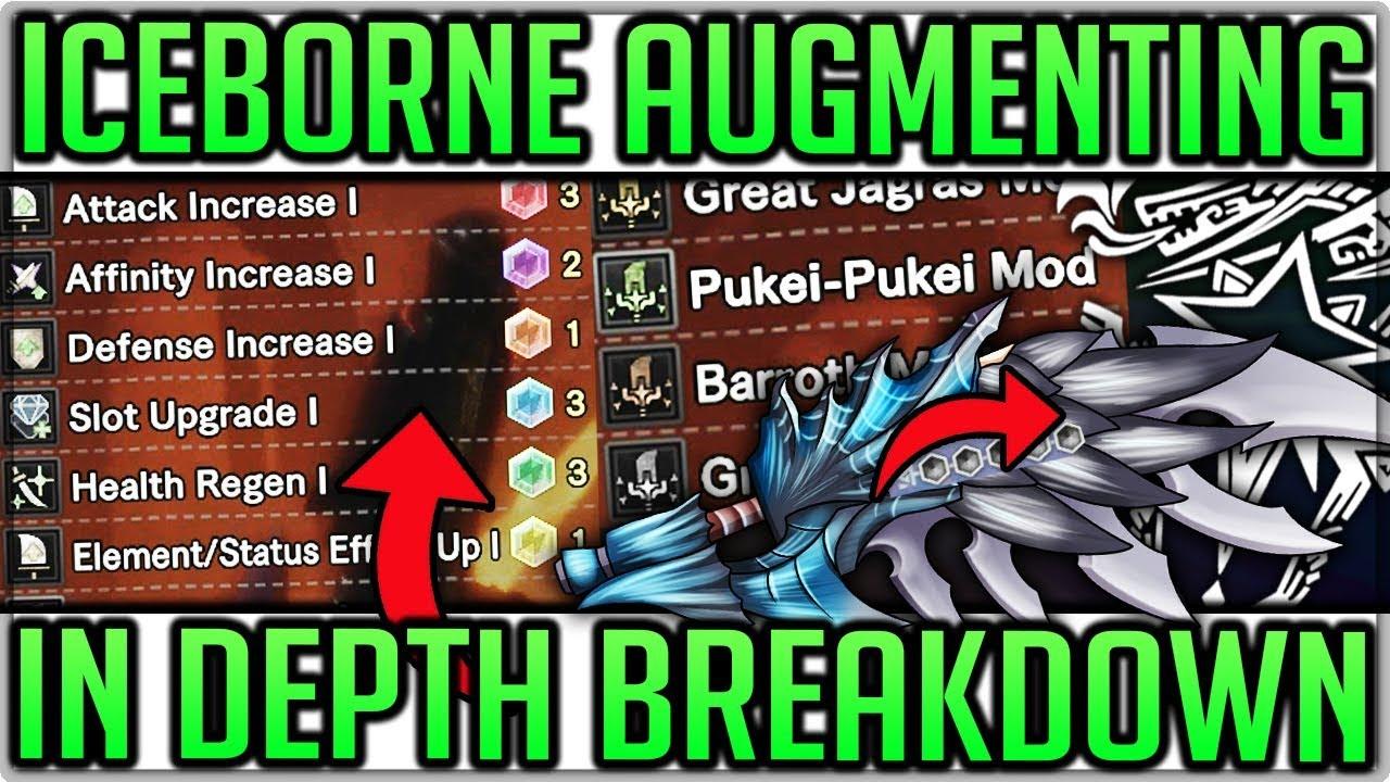 End Game Master Rank Augmenting Guide - Custom Mods/Appearance - Monster  Hunter World Iceborne!