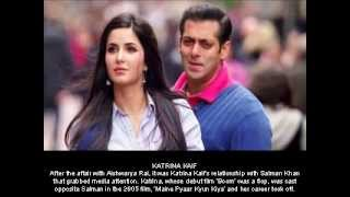 Salman Khan And His Girlfriends