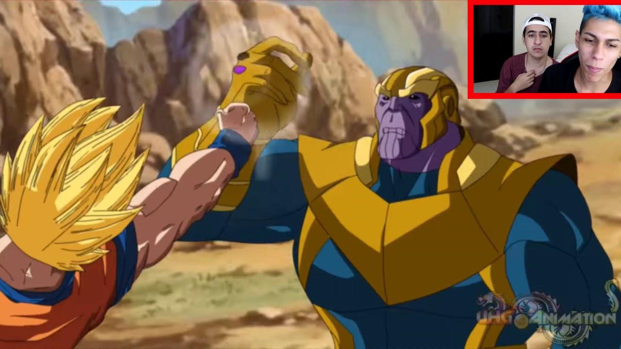 Goku Vs Thanos: ANIMAÇÃO Do GOKU Vs THANOS (reagindo) ‹ Ine ›