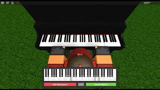 Song of Storms - Legend of Zelda: Ocarina of Time by: Koji Kondo on a ROBLOX piano. [Iuliang]
