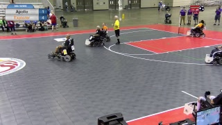 38th Annual NVWG: Power Soccer Game 1