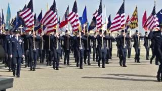 Air Force Basic Military Training BMT Graduation Parade 7