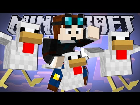 Minecraft | FLYING CHICKEN RACE!! | Party Games 2 Minigame