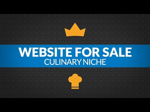 Online Business For Sale - $19.7K/Month in Culinary Niche, e