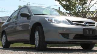 Westend Automotive Ottawa used car: 2005 Honda Civic LX Sedan 4D