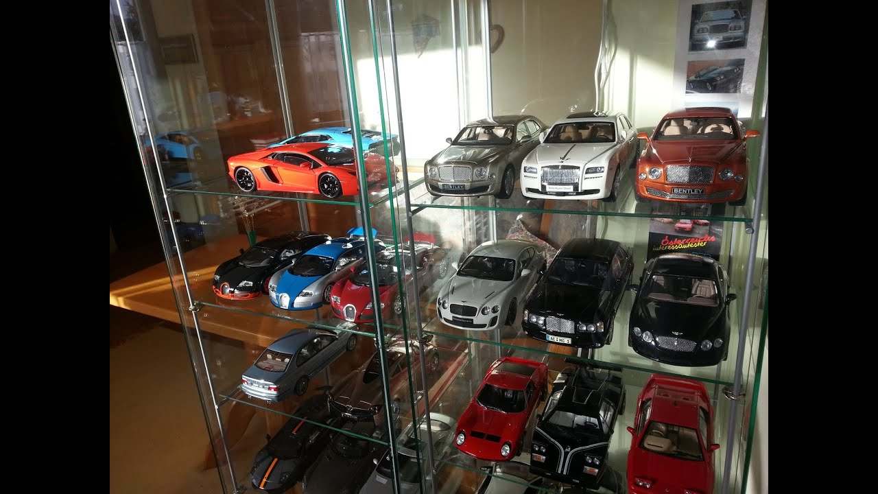 bmw bugatti bentley ferrari lamborghini etc my collection 1 18 diecast part 1 youtube. Black Bedroom Furniture Sets. Home Design Ideas