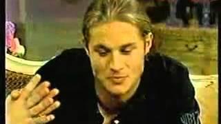 Travis Fimmel on Sharon Osbourne