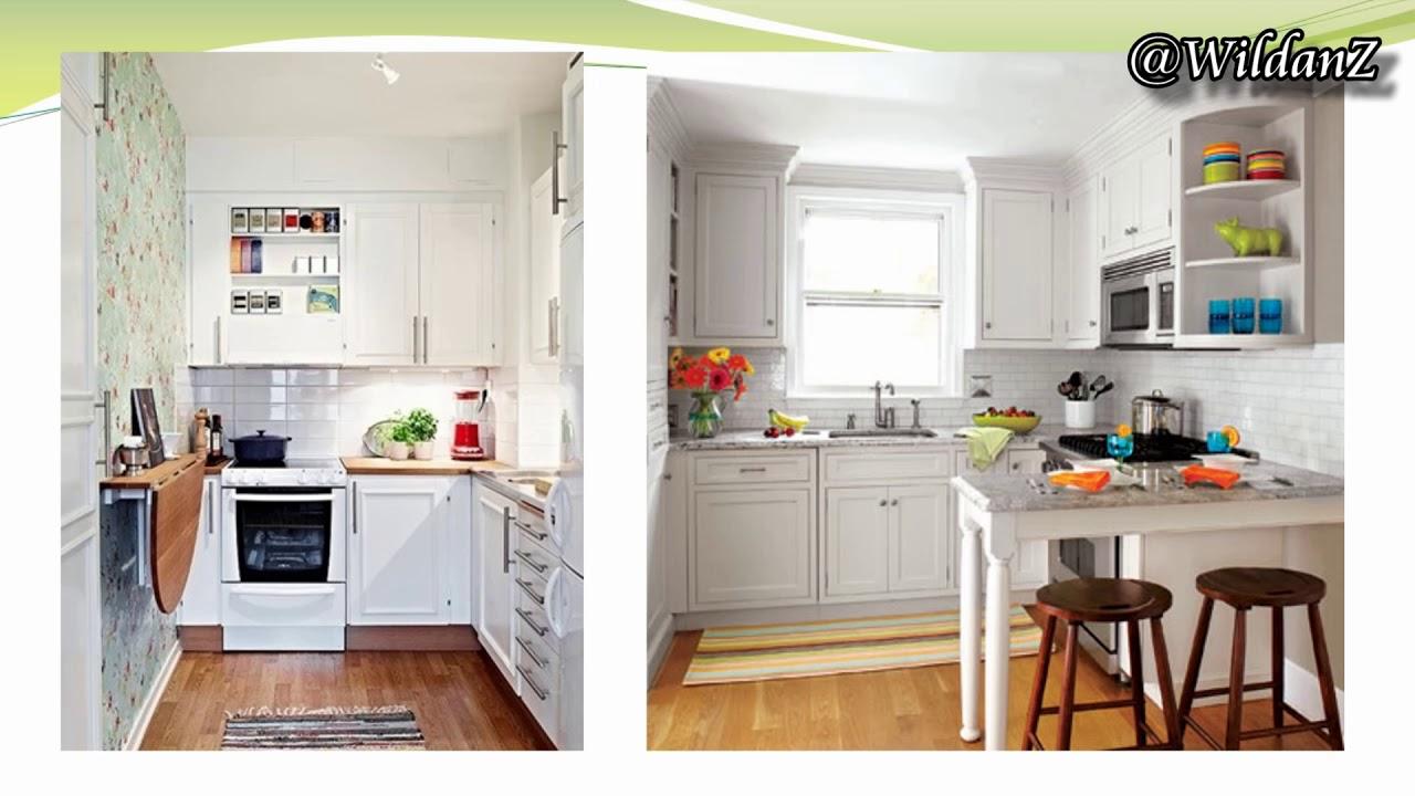 Referensi Desain Kitchen Set Untuk Dapur Sempit Dan Kecil Youtube