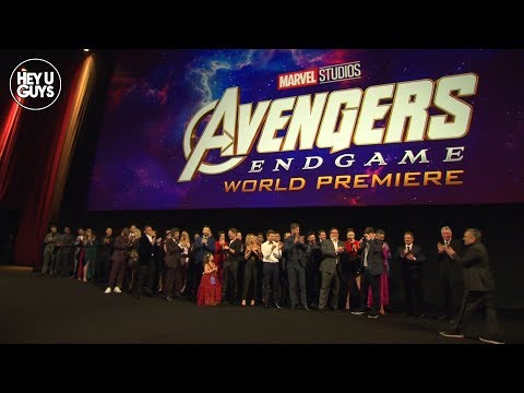 Avengers: Endgame Premiere EPIC Cast Photo from YouTube · Duration:  54 seconds