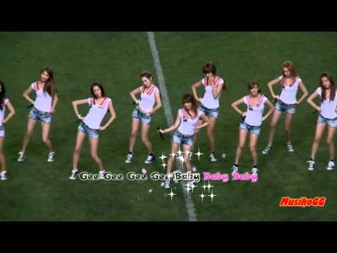 [Karaoke] Girls' generation - Gee ( Mirrored Dance ) [HD]