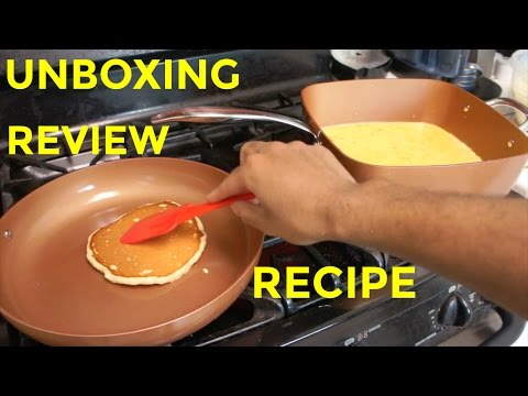 Copper Chef Pro 7-Piece Set Unboxing | Review | steamjoe's Pancake Recipe