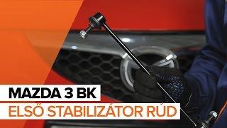 MAZDA Stabilizátor összekötő kiszerelése - video útmutató