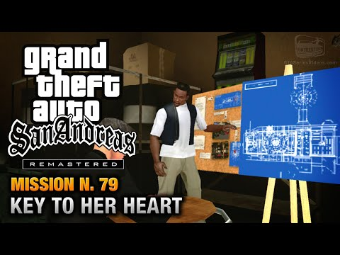 GTA San Andreas Remastered - Mission #79 - Key to her Heart (Xbox 360 / PS3)
