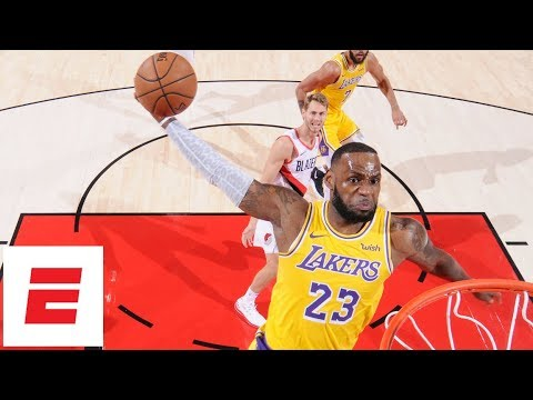 Chicago Morning Takeover - VIDEO: LeBron James Makes His Debut On The Lakers!