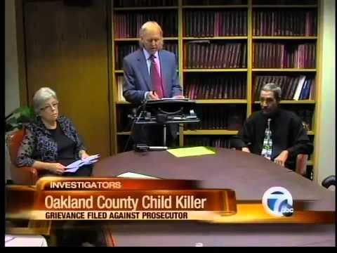 Grievance filed against Oakland Co. Child Killer prosecutor