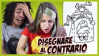DISEGNARE... AL CONTRARIO! 🐸 Fraffrog