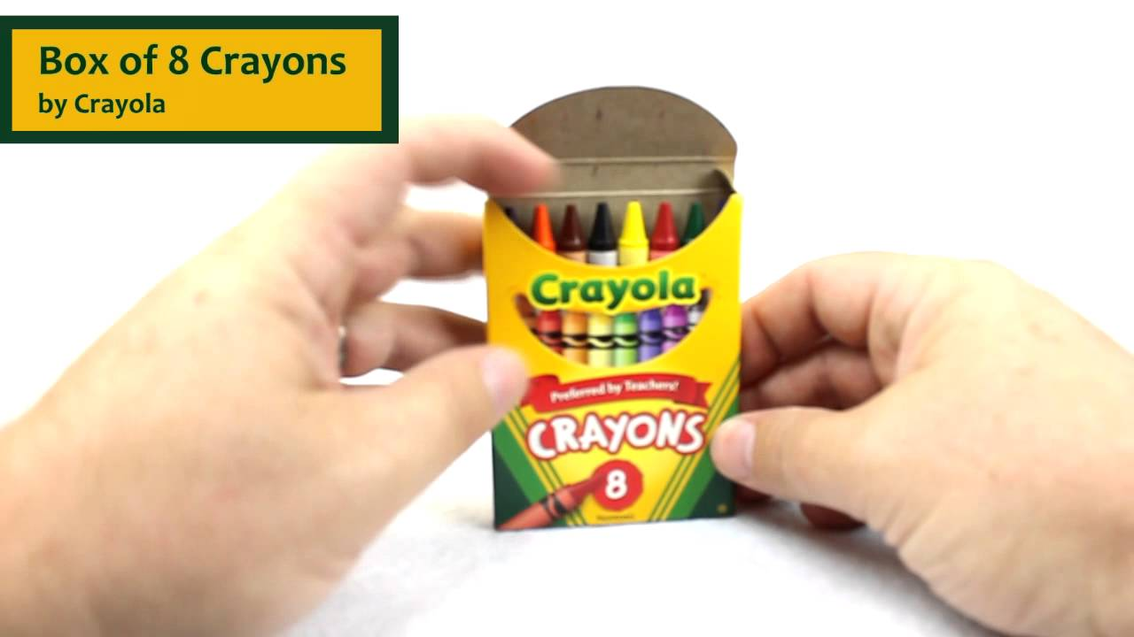 Crayon Rings Box Of 8 Crayons By Crayola Product Review 52 0008 Youtube