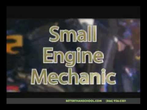 Motorcycle Small Engine Repair Career School Youtube